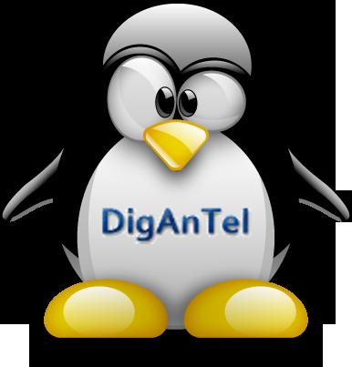 Active Linux Distro DIGANTEL, distrowatch.com